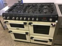 Hotpoint cannon Cream dual fuel Range Cooker