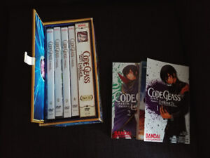 Code Geass Seasons 1&2 + manga Vols 1+2