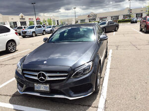 4 Month Lease takeover on 2015 Mercedes-Benz C300 AMG Sedan