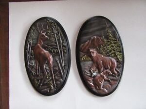 PLAQUES - 2 SETS OF 2