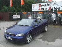 2005 VAUXHALL ASTRA EXCLUSIVE BERTONE 1.8L CONVERTIBLE ONLY 54,962 MILES
