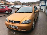 Vauxhall Astra 2.2i 16v Bertone Edition COUPE - 2001 X-REG - 5 MONTHS MOT