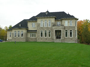 Estate Home -3 sides on green space near Newmarket