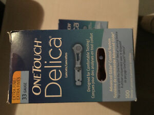 One Touch Delica Lancets