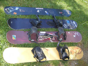Snowboards for sale   .
