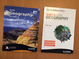 WJEC B Geography Textbook and Revision Guide