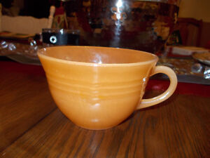 Fire-King oven ware.Teacup