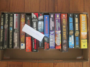 Collection of Single copy Fiction Authors