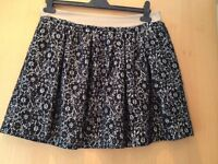 Never used floral skirt size 14