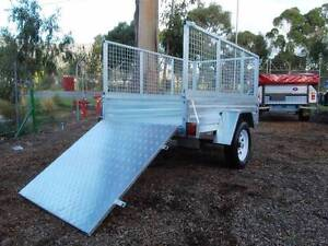 7x4 with ramp, all galv & licensed. PMX Trailer, Wangara Wangara Wanneroo Area Preview