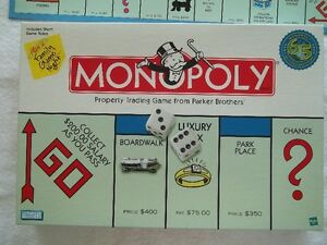 new 65th Anniversary millennium edition Monopoly board game