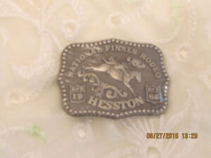 Belt Buckle - Junior Size - Hesston - 1986