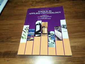 Topics in Applied Psychology London Ontario image 1