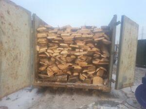 Hardwood Skins Cut Thick Firewood $900.00 Delivered