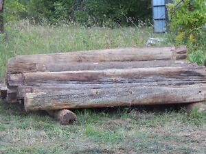 100 year old logs