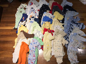 Huge lot of baby boy clothing - 0-3months