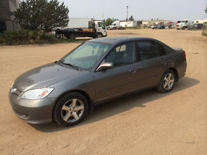 2005 Honda Civic EX ...WITH SUNROOF ONLY 194KM