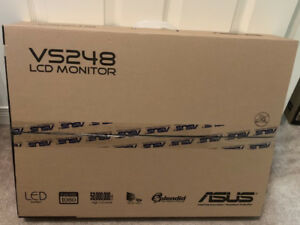 "24"" ASUS 2ms Back-lit LED Monitor (VS248H-P)"