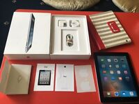 Apple iPad 2 black 16GB wifi cellular 3G Unlocked with case good condition boxed no offers