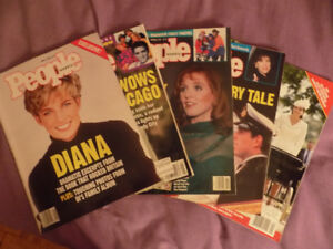 Lot of People Magazines