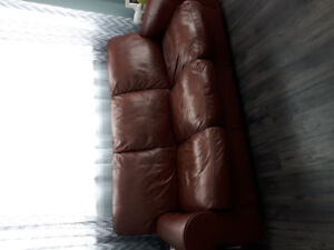 Leather top Couch chair love seat 3 piece set