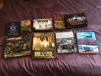 WWI & WWII DVD Box Sets and Books