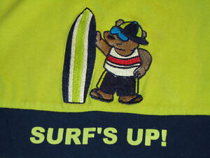 Boys Size 12 Months Surfing Bear Tank Top Kingston Kingston Area image 2