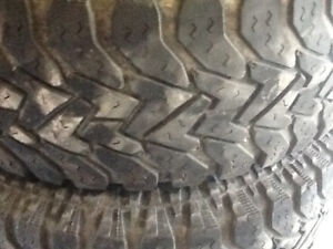 "31"" Goodyear tires"