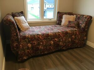 Bed- Lane upholstered twin bed