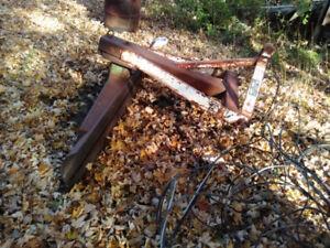 Scraper blade 3ph