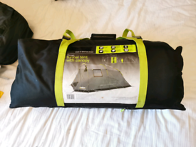 Halfords 4 Man Tent with Canopy rrp £150