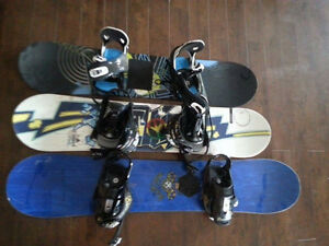 Boards with Bindings!