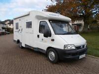Chausson Welcome 55 Motorhome with Fixed Rear Bed 2 Berth