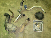 Duramax EGR,EGR delete up pipe, diff cover, exhaust