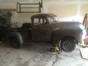 1954 1/2 chev short box project