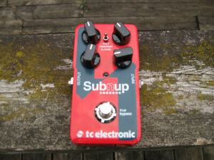 Sub'N'Up FX pedal TC Electronic effect $150 guitar bass organ