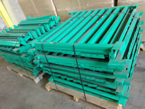 """Load spreader bars fit 40"""" deep racking 3 X 1,1/2 X 1/16""""profile"""