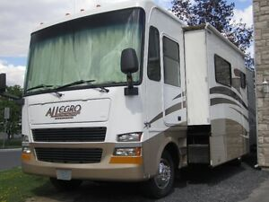 VR 2007 Tiffin Allegro Classe A 31.5 pied 2 extensions