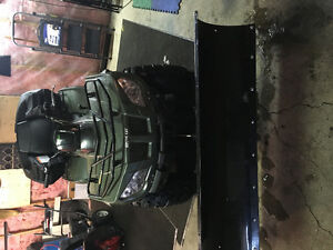 2014 Arctic Cat 400 4x4 w/ click and go plow!!