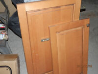REAL maple SOLID CABINET DOORS ONLY