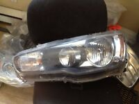 Mitsubishi lancer phare lumière lamp headlamp light headlight