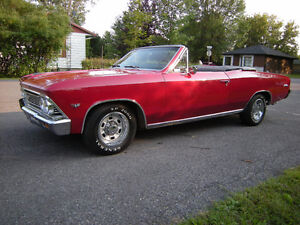 1966 CHEVELLE CONVERTIBLE----REDUCED----
