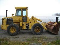 "JOHN DEERE 544 LOADER ""SNOW MOVER"""