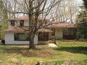 Country home with 36 acres in Hemmingford