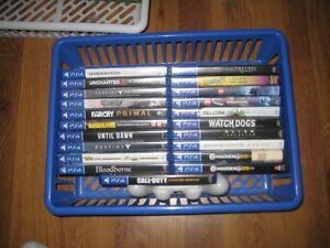 24 ps4 games (more added)
