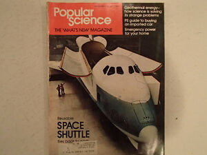 Vintage Popular Science Magazine November 1974 GC