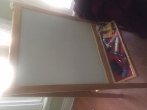 chalk board/white board easel