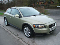 VOLVO C30 1.8 SE LUX ONLY ONE OWNER GENUINE LOW MILEAGE STUNNING