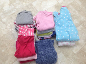 Baby girl clothes lot 12-18 months