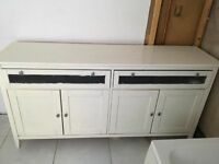 Large wood cabinet